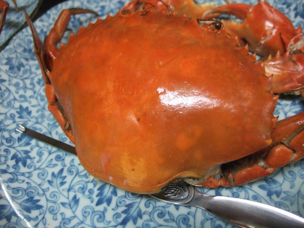 浜名湖産のどうまん蟹です。